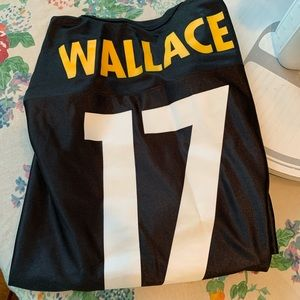 NFL Shirts - NFL Team Apparel Steeler Mike Wallace Jersey XL